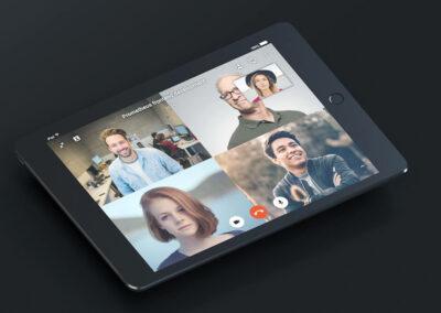 VNCtalk on iPad